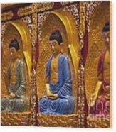 Vietnamese Temple Wood Print