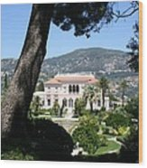 Villa Ephrussi De Rothschild Wood Print