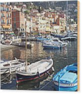 Villefranche-sur-mer    Wood Print
