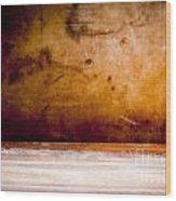 Vintage Grunge Background Wood Print