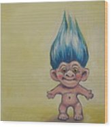 Vintage Toy Series Wood Print by Kelley Smith