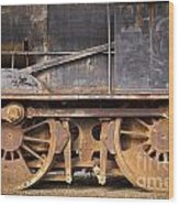 Vintage Train Wood Print