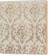 Vintage Wallpaper Wood Print