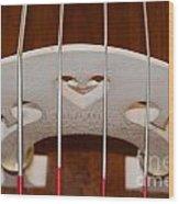 Violoncello Wood Print