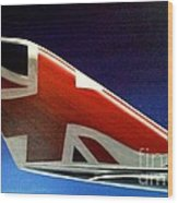 Virgin Atlantic Winglet Wood Print