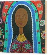Virgin Guadalupe Wood Print