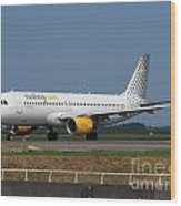 Vueling Airbus A320 Wood Print