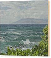 Wailea Point Maui Hawaii Wood Print