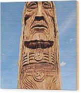 Waokiye Wood Print