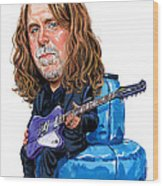 Warren Haynes Wood Print by Art