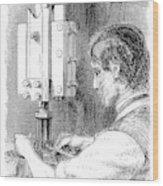 Watchmaker, 1869 Wood Print
