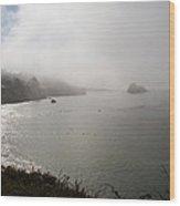 West Coast And Beach Wood Print