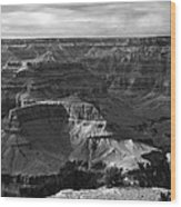West Rim Grand Canyon National Park Wood Print