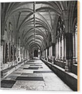 Westminister Abbey Cloister Wood Print