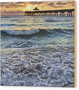 Whipped Cream Wood Print