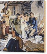 William Beaumont Wood Print