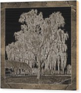 Willow Ranch Wood Print