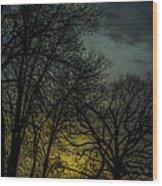 Winter Solstice Sunrise Wood Print