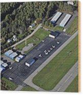 Wiscasset Airport, Wiscasset Wood Print
