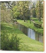 Woerlitzer Park Wood Print