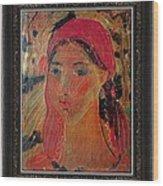 Woman Wood Print by Ivan Filchev