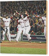 World Series - St Louis Cardinals V Wood Print