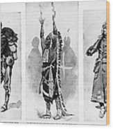 Wounded Knee, 1890 Wood Print