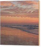 Wrightsville Beach At Sunrise Wood Print