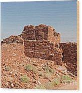 Wupatki Pueblo In Wupatki National Monument Wood Print