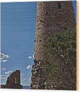 Yavapai Tower Wood Print