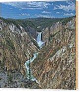Yellowstone River  Wood Print