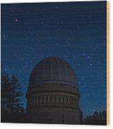 Yerkes Observatory Wisconsin Wood Print