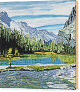 Yoho Valley Wood Print by David Skrypnyk