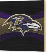 Baltimore Ravens Wood Print