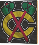 Chicago Blackhawks Wood Print