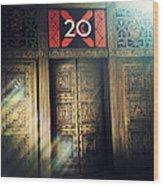 20 Exchange Place Art Deco Wood Print