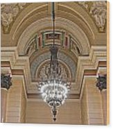 Interior Of St Georges Hall Liverpool Uk Wood Print