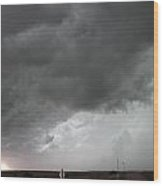 Nebraska Panhandle Supercells Wood Print
