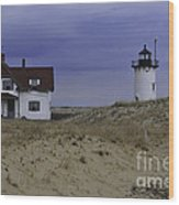 Race Point Light 1 Wood Print
