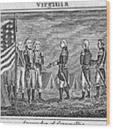 Yorktown: Surrender, 1781 Wood Print
