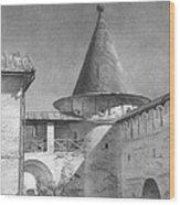 2001 Tower  Wood Print