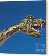 2015 Rose Parade Float Showing A Dragon 15rp040 Wood Print