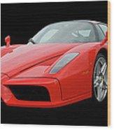 2002 Enzo Ferrari 400 Wood Print