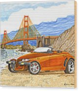 2002 Plymouth Prowler Wood Print