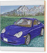 2002 Porsche 996 Wood Print