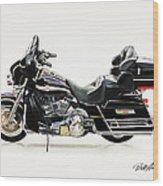 2003 Harley Davidson Wood Print