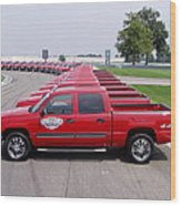 2004 Brickyard 400 Silverado Drive-away Vehicles Wood Print