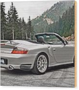 2004 Porsche 911 Turbo Cabriolet Wood Print