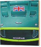 2005 Aston Martin Dbr9 Wood Print