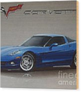 2005 Corvette Wood Print